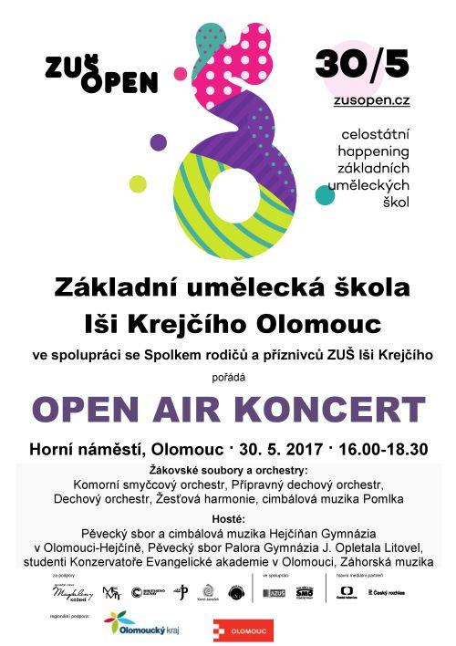 OPEN AIR koncert ZUŠ Open